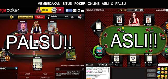 Cara Mengetahui Agen Judi Poker Online Palsu